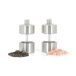 Duo mini moulins à poivre et à sel universels
