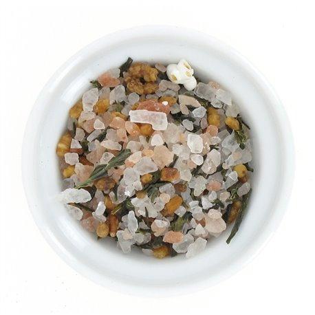 Diamant de sel du cachemire au thé vert