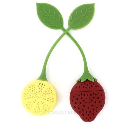 Boule à thé fraise ou citron