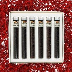 6 Poivres noirs en tube - Coffret n°2