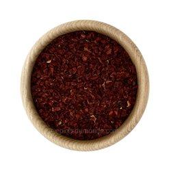 Poivron rouge concassé
