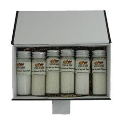 6 fleurs de sel en tube - Coffret n°2