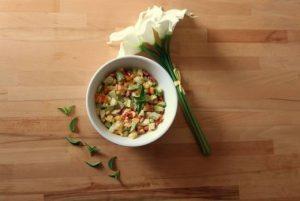 Recette salade estivale aux épices
