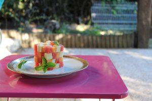 Frubik's cube: une salade de fruits revisitée façon rubik's cube