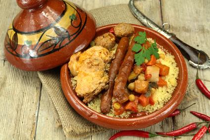 recette couscous merguez poulet - épices du monde