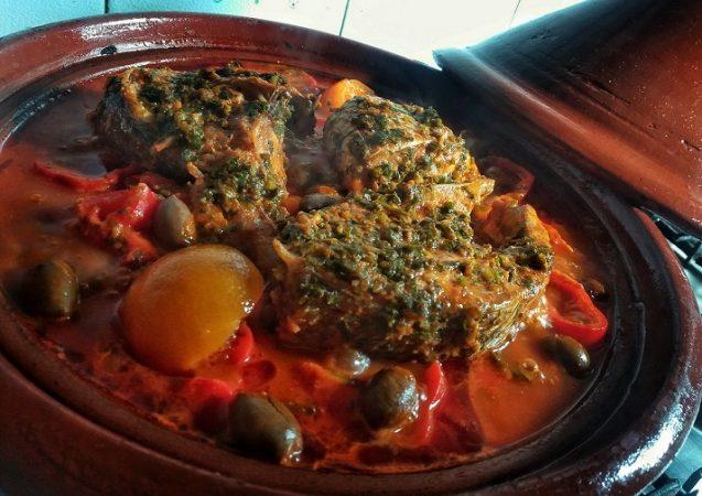 recette Tajine de poisson aux légumes - épices du monde