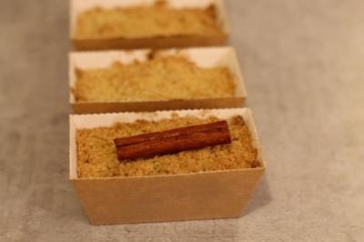 recette - crumble épicé pomme cannelle réglisse - épices du monde