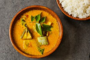 Curry doux de Poisson