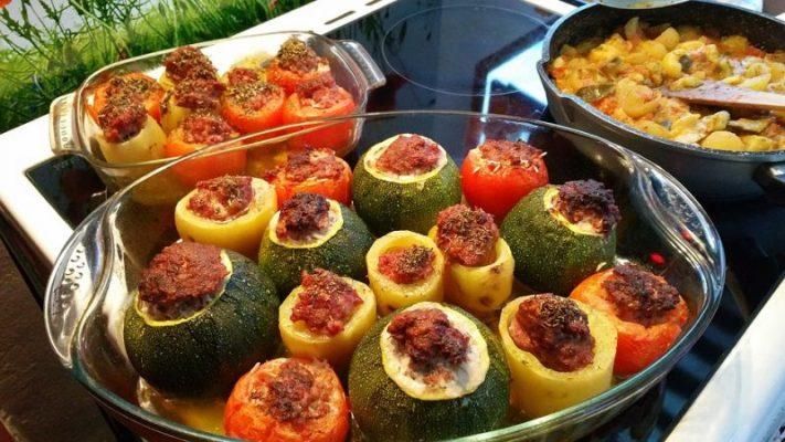 recette légumes farcis aux épices rabelais - épices du monde