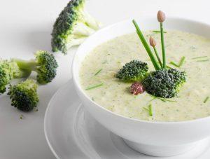 Recette soupe de brocolis au roquefort et épices rabelais