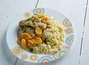 recette tajine de poulet aux abricots - épices du monde