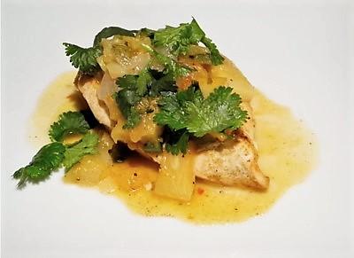 recette - Poulet à l'ananas et au curry - épices du monde