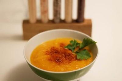 recette Velouté de butternut, gomasio épicé maison - épices du monde