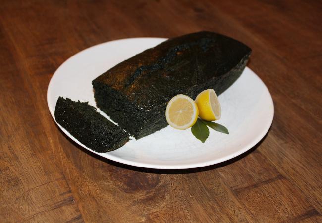 recette cake citron à la spiruline - épices du monde
