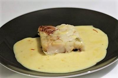 recette colin sauce safranée - épices du monde
