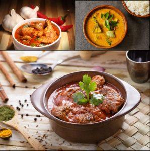 Recette curry de poulet, d agneau et de poisson - épices du monde