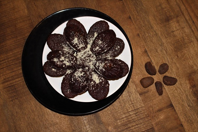 recette madeleines au chocolat et à la noix de cola - épices du monde