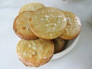 Sablés vanille à la fleur de sel de Guérande