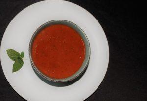 Sauce tomate aux herbes et épices
