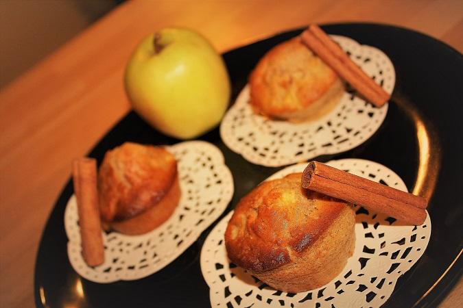 recette muffins pomme cannelle - épices du monde