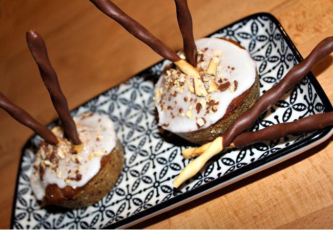 recette cupcakes vanille aux bâtonnets chocolat au lait - épices du monde