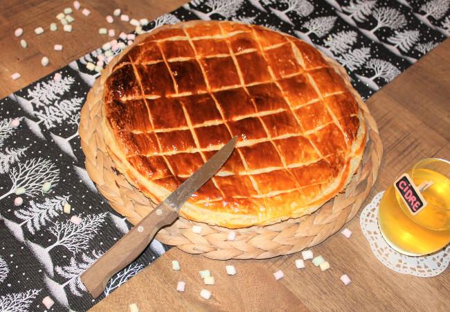 recette dessert - galette des rois frangipane - épices du monde