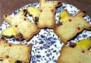 Sablés Pikachu au mélange quatre épices