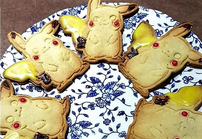 recette dessert - sablé pikachu aux quatre épices et vanille 2 - épices du monde