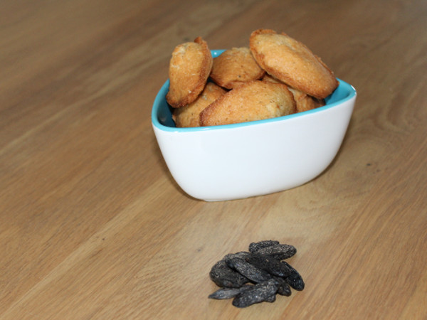madeleine à la fève de tonka