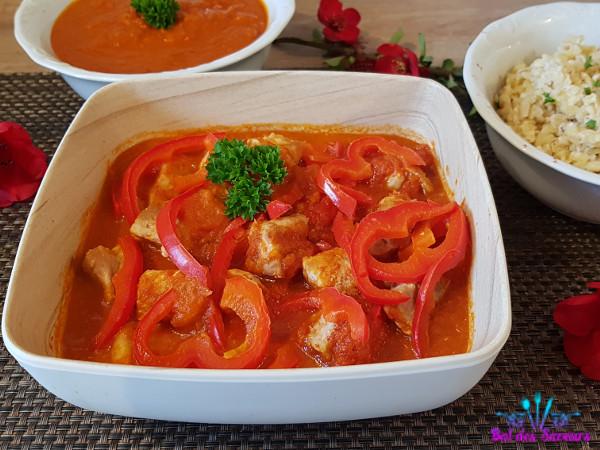 Mijoté de porc au paprika